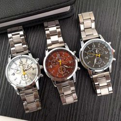 Đồng hồ cơ đeo tay kim loai giá sỉ