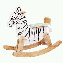 ngựa bập bênh gỗ cho bé iq toys