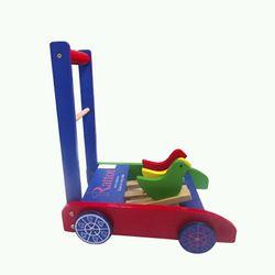 xe tập đi gỗ cho bé