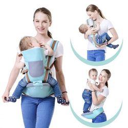 Địu ngồi nhiều tư thế kết hợp địu võng có đỡ cổ an toàn cho bé Baby Lab giá sỉ