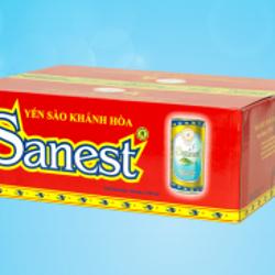 Nước yến sào Sanest - Thùng 30 lon Có Đường giá sỉ