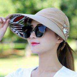 Mũ đi nắng thuê hoa thể thao du lịch phong cách Hàn Quốc