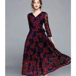 Đầm Ren Dáng Dài giá sỉ