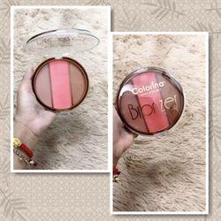 Má hồng Blusher 3 lai tạo khối Bronzer 3 lai Colorina sỉ 30k giá sỉ