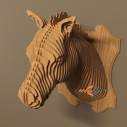 Đầu Thú Trang Trí- Hình Ngựa