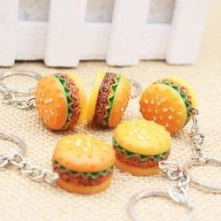 Móc khóa bánh hamburger giá sỉ