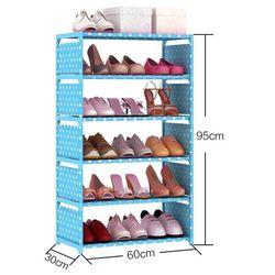 Tủ giày 6 tầng trơn - giá sỉ