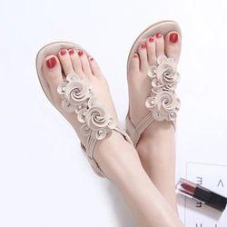 giày sandal hoa nữ thời trangD185 giá sỉ