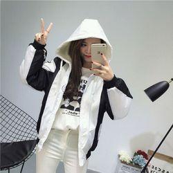 Áo Khoác Dù Nữ 2 Lớp New Fashion 2018 giá sỉ