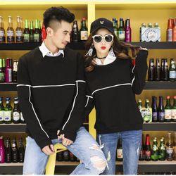 Áo thun nam nữ tay dài cặp đôi hàng mới về 2018 giá sỉ, giá bán buôn