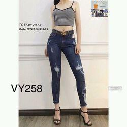 Quần Jeans Nữ MS 258 giá sỉ