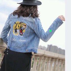 Áo Khoác Jeans Nữ giá sỉ