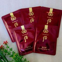 Gói mặt nạ massage whoo đỏ - Contouring Massage Mask