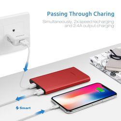 Pisen - Pin sạc dự phòng Color 1S dung lượng 10000mAh - sạc nhanh - 1 cổng USB - 1 cổng Type C giá sỉ