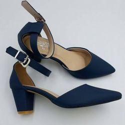 Giày cao gót 5cm đế trụ giá sỉ