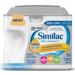 Sữa Similac Pro- Advance HMO Non-GMO Mỹ cho bé 0-12 tháng hộp 658g giá sỉ