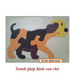 Tranh ghép hình con chó TG3T-03 giá sỉ