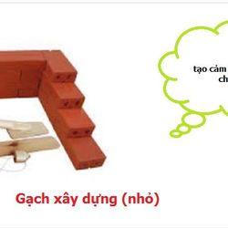 Gạch xây dựng nhỏ-CD2T-05 giá sỉ