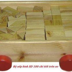 Bộ xếp hình XD 100 chi tiết trên xe-XH4T-05 giá sỉ