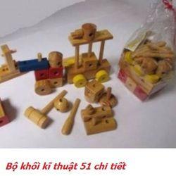 Bộ khối kĩ thuật 51 chi tiết-XH4T-06 giá sỉ