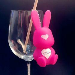 Thỏ rose tim giá sỉ
