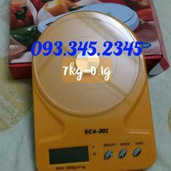 Cân 7kg Cân nhà bếp Cân điện tử chính xác Cân mini giá rẻ giá sỉ