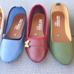 Giày búp bê giá tốt may lót ta-long giá sỉ