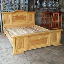 giường gỗ sồi 16m giá sỉ