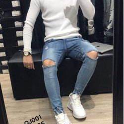 Quần jean nam thời trang phong cách - 105 giá sỉ