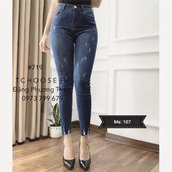 Quần jean nữ thời trang phong cách - 107 giá sỉ
