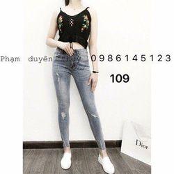 Quần jean nữ thời trang phong cách - 109 giá sỉ
