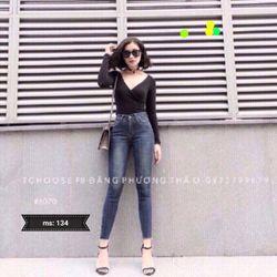 Quần jean nữ thời trang phong cách - 134 giá sỉ