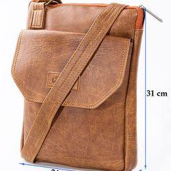 Túi đeo chéo Unisex Ipad 06 ĐEN giá sỉ, giá bán buôn
