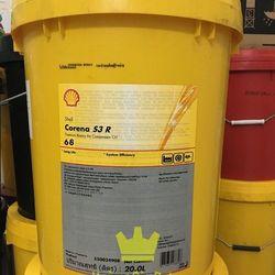Dầu máy nén khí Shell Corena S3 R68 xô 20 lít giá sỉ