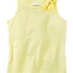Áo 3 lỗ bé gái Oshkosh đính nơ điệu đà rất xinh Size 6m đến 14t tỉ lệ size nhỏ rất ít
