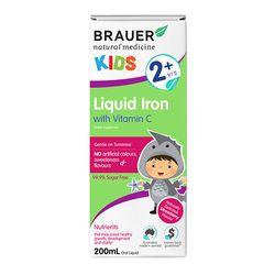 Siro bổ sung sắt và vitamin C Brauer Úc cho trẻ trên 2 tuổi 200ml giá sỉ