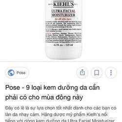 SỮA DƯỠNG ẨM MỊN DA HÀNG NGÀY KIEHL'S ULTRA FACIAL MOISTURIZER 250ml giá sỉ, giá bán buôn