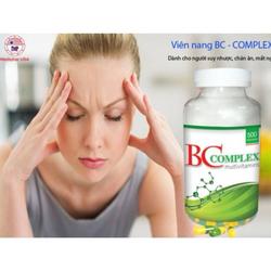 Vitamin và khoáng chất cho người chán ăn mất ngủ - BC – Complex giá sỉ