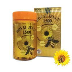 ROYAL JELLY 1500 - Chiết xuất từ sữa ong chúa collagen và vitamin E giá sỉ, giá bán buôn