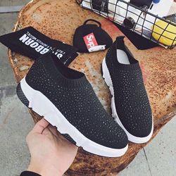 giày sneaker kim tuyên nhũ giá sỉ