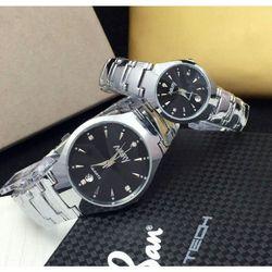Đồng hồ cặp đôi Nary dây thép giá sỉ