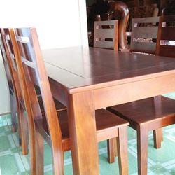 Bộ bàn ăn tràm 6 ghế giá sỉ