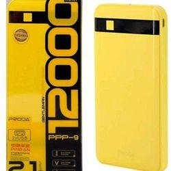 Pin sạc dự phòng prodA 12000mah giá sỉ