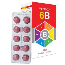 Vitamin 6B - Bổ sung vitamin nhóm B giá sỉ