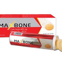 MAXBONE – Bổ sung canxi và vitamin D3 giá sỉ