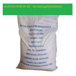 Muối tinh khiết Ấn Độ 993 dùng cho thực phẩm giá sỉ