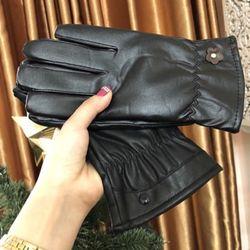 Găng tay da lót lông cho nam/ nữ về rùi