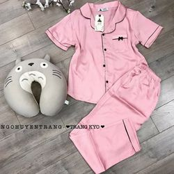 Pijama lụa satin TNQD giá sỉ
