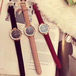 Đồng hồ cặp nữ da giá sỉ