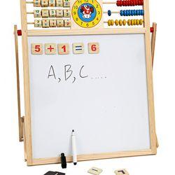 Bảng Từ 2 Mặt Education Board Và Bộ Chữ Cho bé giá sỉ